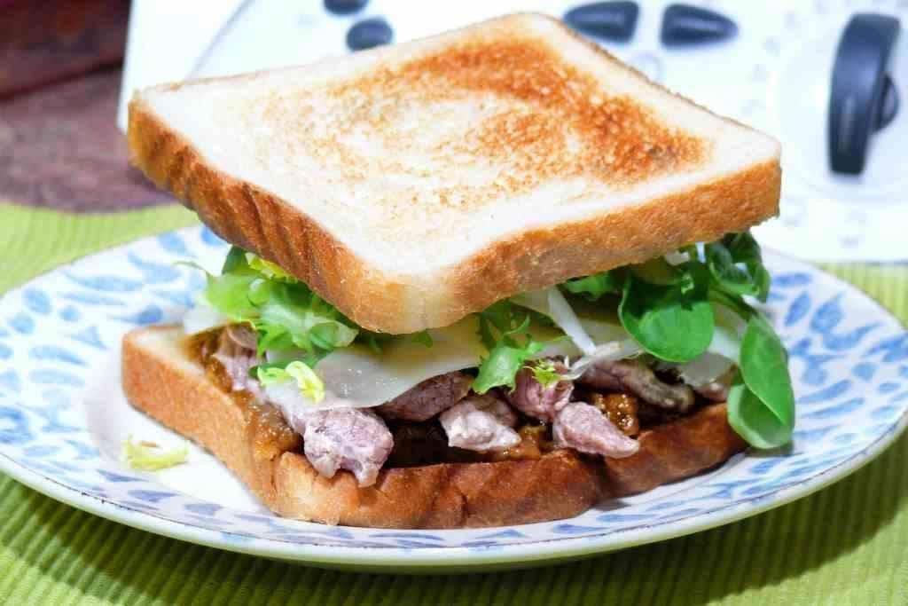 Sandwich Sirloin Onion