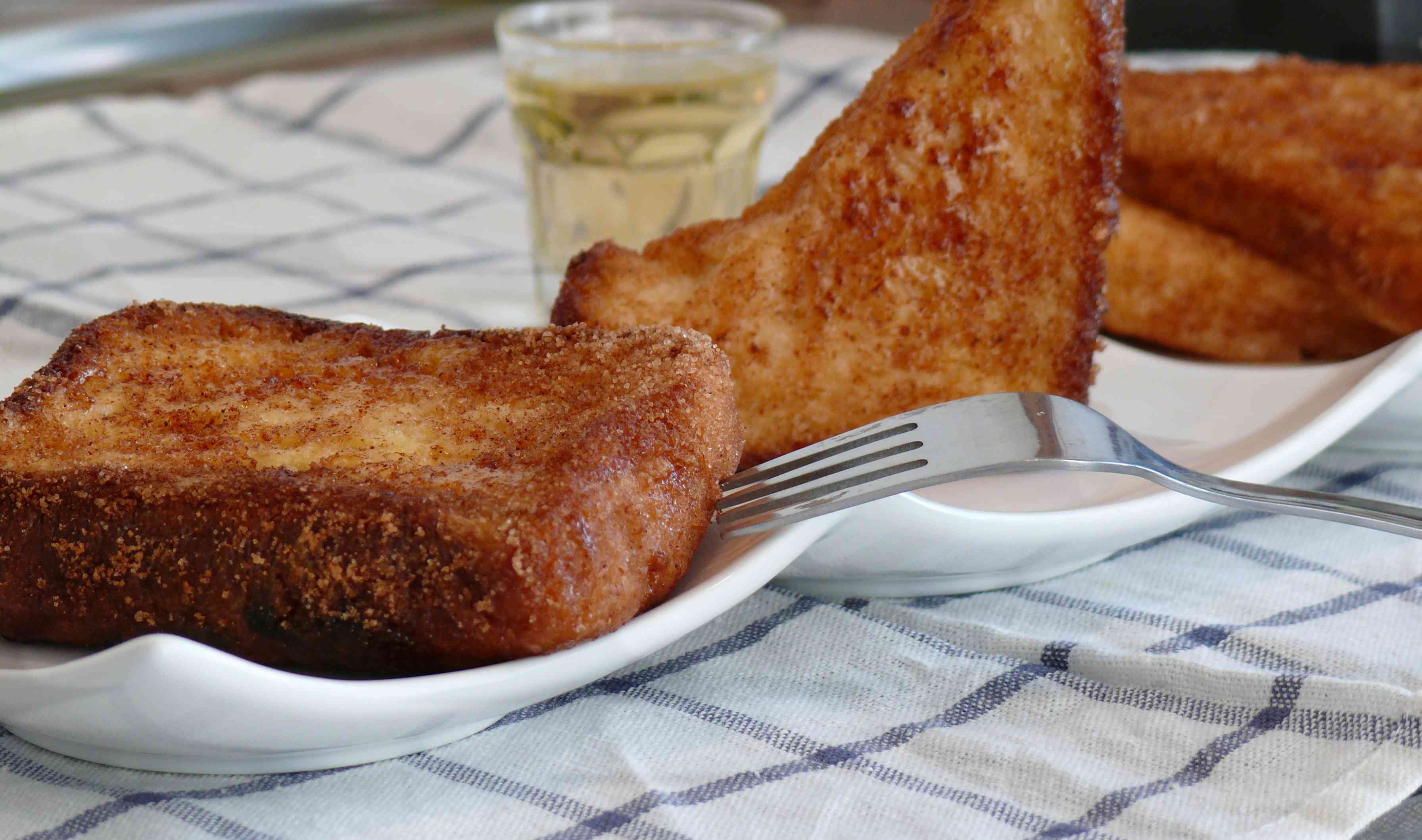 Torrijas con pan brioche