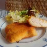 Pechuga de pollo Villaroy