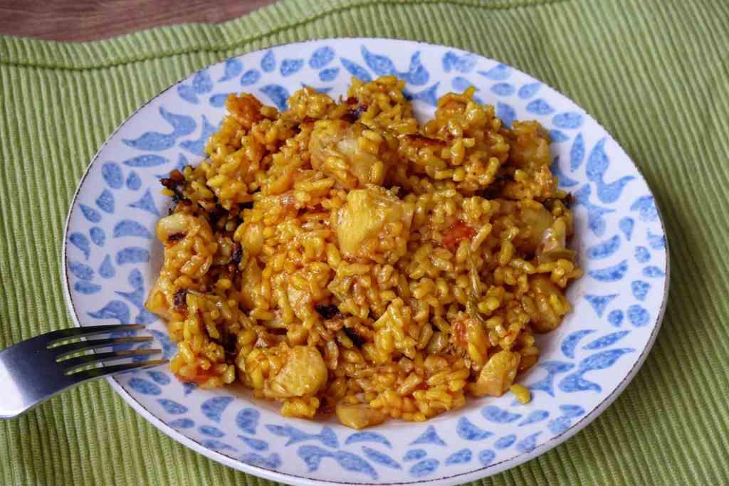 Receta de arroz con bacalao - Arroz con bacalao desmigado ...