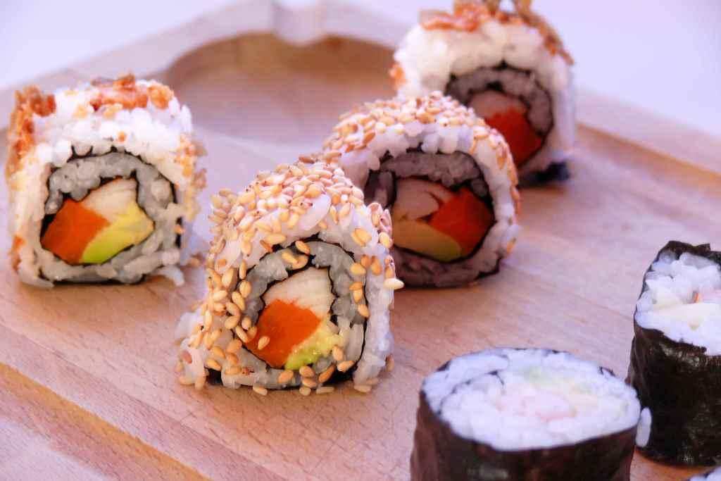 Como hacer sushi en casa , receta fácil