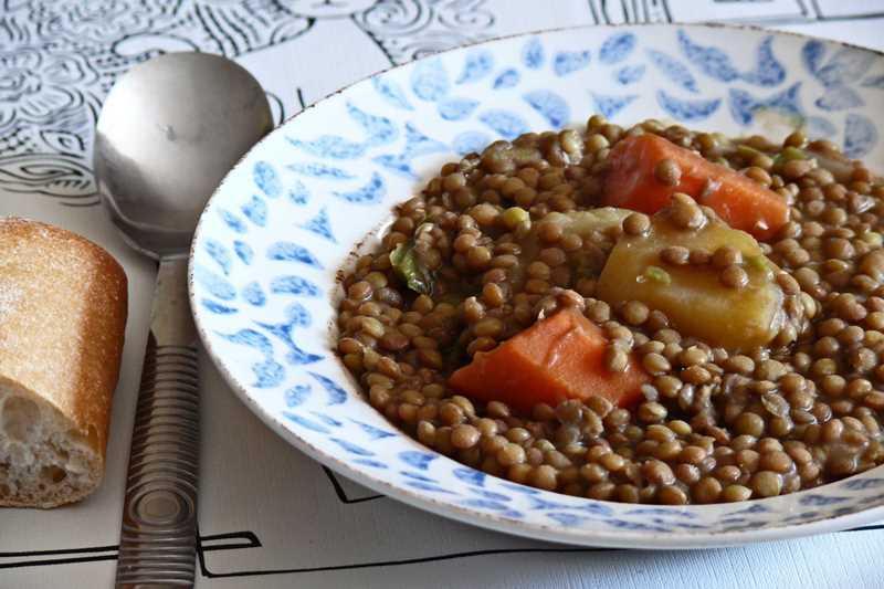 Recetas de cuchara lentejas al curry con thermomix for Cocinar lentejas con verduras