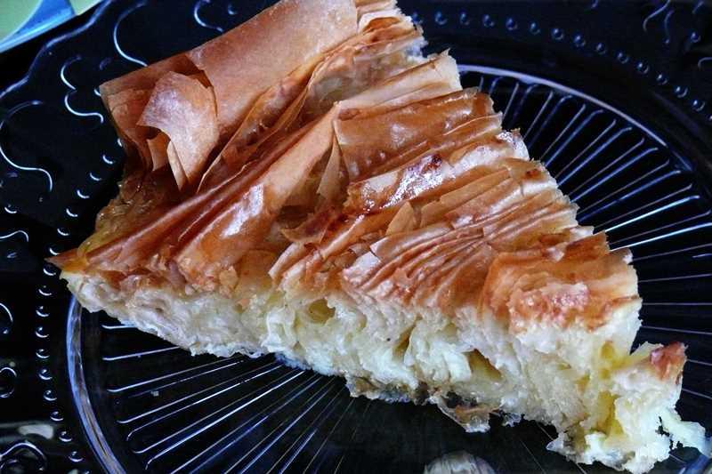 Tarta de masa filo con thermomix o ruffle milk pie - Que hacer con la pasta filo ...