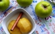Cocina facil con thermomix , manzanas en almíbar de moscatel