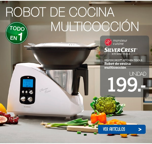 Robot de cocina lidl silvercrest kitchen tools for Robot de cocina silvercrest